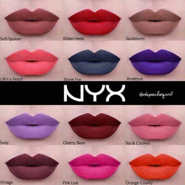 NYX LIQUID SUEDE CREAM LIPSTICK - Cosmetic Planet