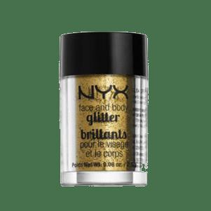 nyx face glitter