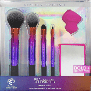 color + contour brush set