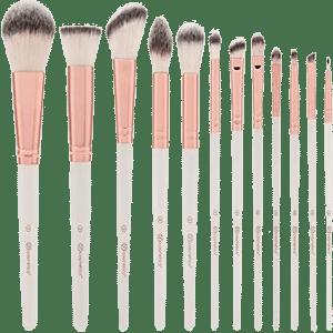 bh cosmetics rose romance brush set